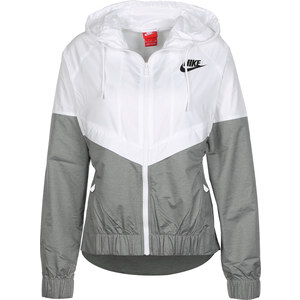 Nike W Windbreaker white/grey/black