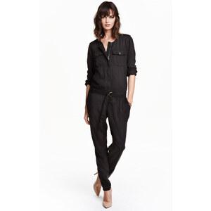 H&M Combi-pantalon en lyocell