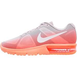 Nike Performance AIR MAX SEQUENT Sneaker low hyper orange/white/volt ash/metallic silver