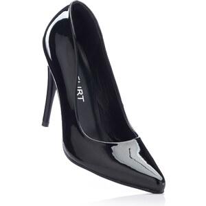 Escarpins noir avec 11 cm haut talonchaussures & accessoires - bonprix