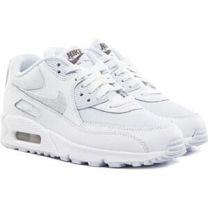 NIKE Air Max 90 Mesh Damen Sneaker Weiß
