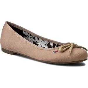 Ballerinas TOMMY HILFIGER - DENIM Allen 12D EN56820918 Sand 102