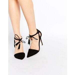 Lipsy - Laura - Chaussures à talons avec pampilles - Noir