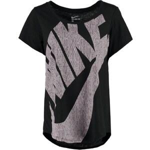 Nike Sportswear FUTURA TShirt print black/black/obsidian