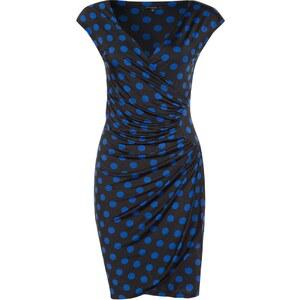 Morgan Jerseykleid noir/bleu