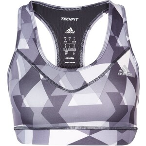 adidas Performance TECHFIT SportBH black/silver