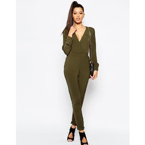 Missguided - Utility-Overall - Grün