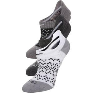 Nike Performance 3 PACK Füßlinge black/black heather/white