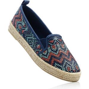 RAINBOW Espadrilles bleu chaussures & accessoires - bonprix