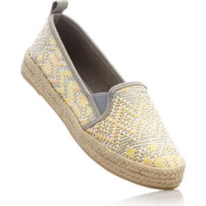 RAINBOW Espadrilles gris chaussures & accessoires - bonprix