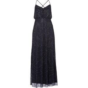 Adrianna Papell Abendkleid mit Muster aus Zierperlen