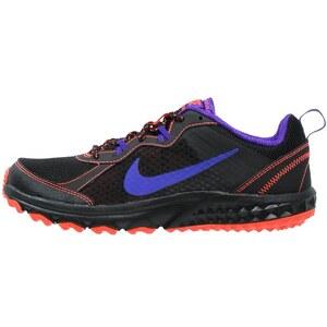 Nike Performance WILD TRAIL Laufschuh Trail black/fierce purple/hyper orange