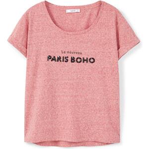 MANGO Baumwoll-T-Shirt Mit Pailletten