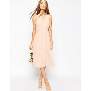 ASOS WEDDING - Hollywood - Robe mi-longue - Rose