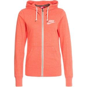 Nike Sportswear GYM VINTAGE Sweatjacke turf orange/sail