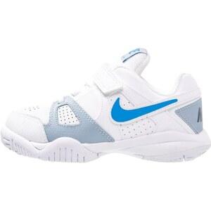 Nike Performance CITY COURT 7 Tennisschuh Multicourt white/photo blue/blue grey