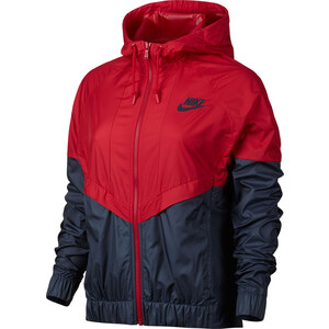 Nike W Windbreaker red/obsidian