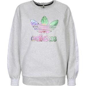 adidas Train Floral Infill W sweat medium grey heather