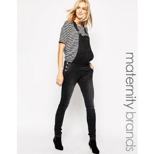 Mama.licious Mamalicious - Salopette en jean - Noir