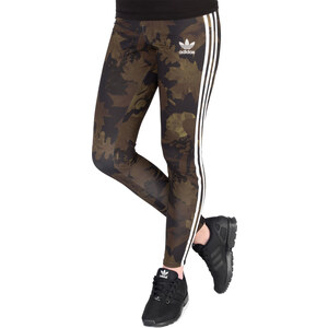 adidas Leaf Camo W Leggings multicolor