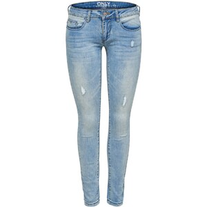 ONLY Skinny Fit Jeans Coral Superlow