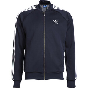 Adidas Sweat Zippé Superstar / ANTHRACITE
