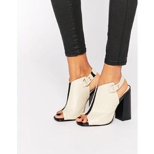 Daisy Street - Sandales peep toes à talons et bride arrière - Beige
