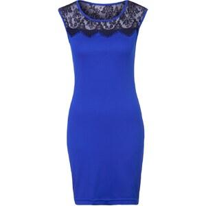 Morgan RININI Jerseykleid bleu encre