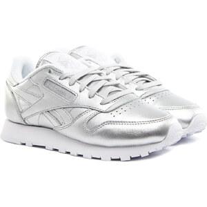 REEBOK Classic Leather Spirit Sneaker Silber