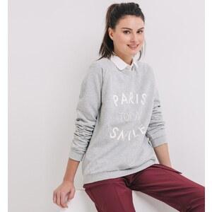 Promod Sweatshirt mit Text