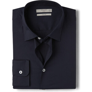 MANGO MAN Slim Fit Baumwollhemd