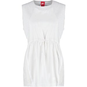 Nike Sportswear BONDED Top birch heather/white