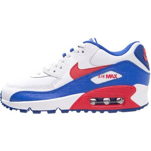 Nike Sportswear AIR MAX 90 Sneaker low white/university red/racer blue