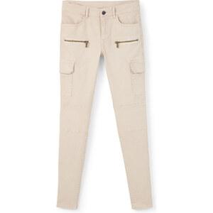 MANGO Baumwoll-Hose Mit Taschen