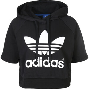 adidas Run Crop W sweat à capuche black