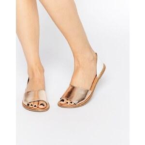 ASOS - JOIN ME - Chaussures d'été en cuir - Multi