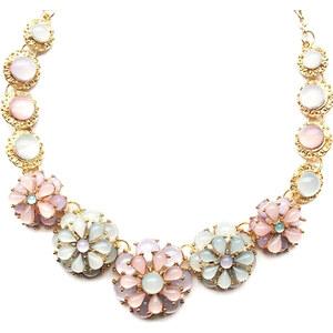 Lesara Statement-Halskette Blüten