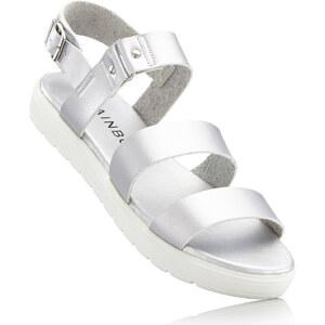 RAINBOW Sandales gris chaussures & accessoires - bonprix