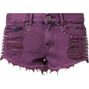 BamBam PAPER CUTS BAMBINO Jeans Shorts berry