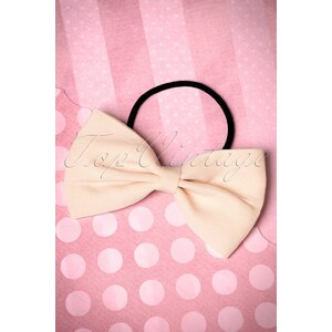 Dancing Days by Banned 50s Lovestruck Bow Hair Band in Ivory