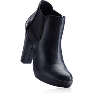 RAINBOW Bottines noir avec 11 cm plateauchaussures & accessoires - bonprix