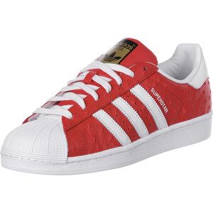 adidas Superstar Animal chaussures red/white/gold