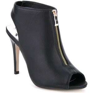 Low Sandale simili cuir Noir - Cendriyon