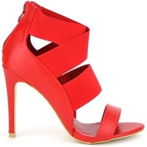 Sandale LOLA Mode rouge - Cendriyon