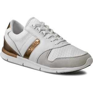 Sneakers TOMMY HILFIGER - Skye 1Z1 FW56820811 Snow White/Gold 118