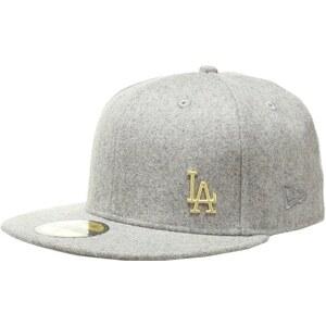 New Era LOS ANGELES DODGERS Cap gray/gold