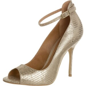 Buffalo High Heel Peeptoe gold
