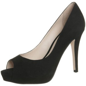 Buffalo High Heel Peeptoe black