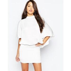 ASOS - Robe courte oversize style kimono - Crème
