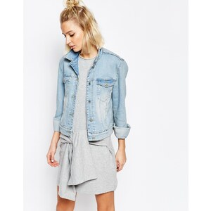 Cheap Monday - Vital - Jeansjacke - Blau